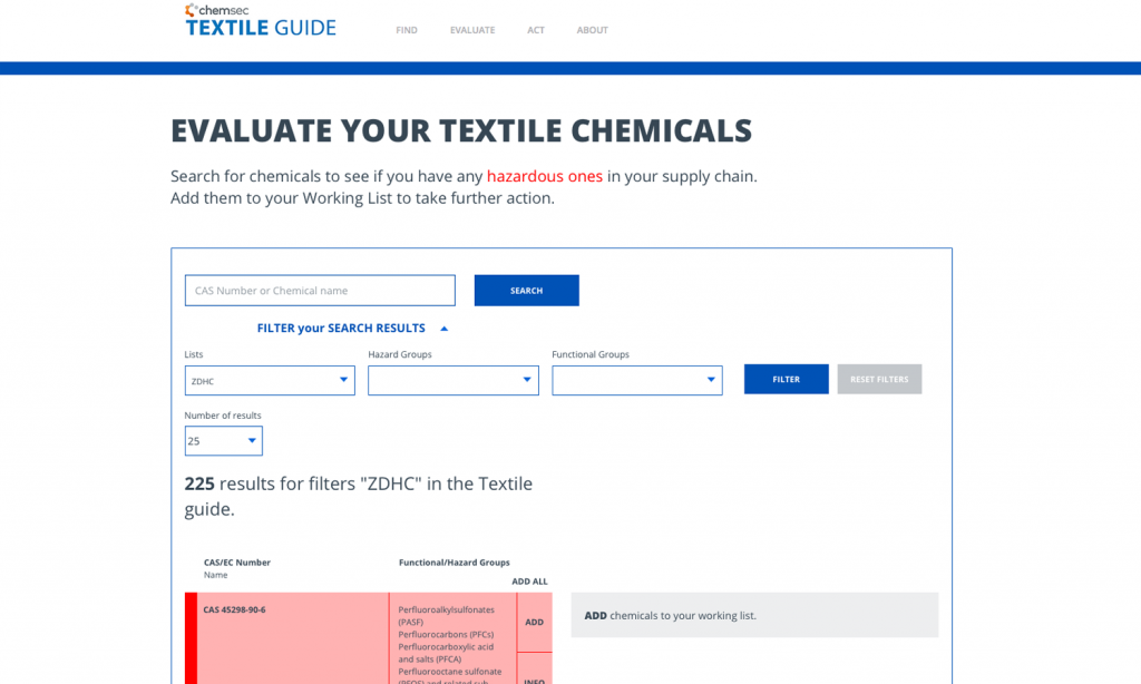 Ideas for how to use the database | Textile Guide